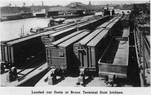 carfloats at the bronx terminal