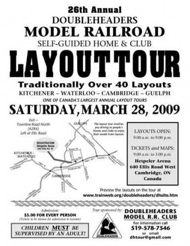 2009 Doubleheaders Layout Tour