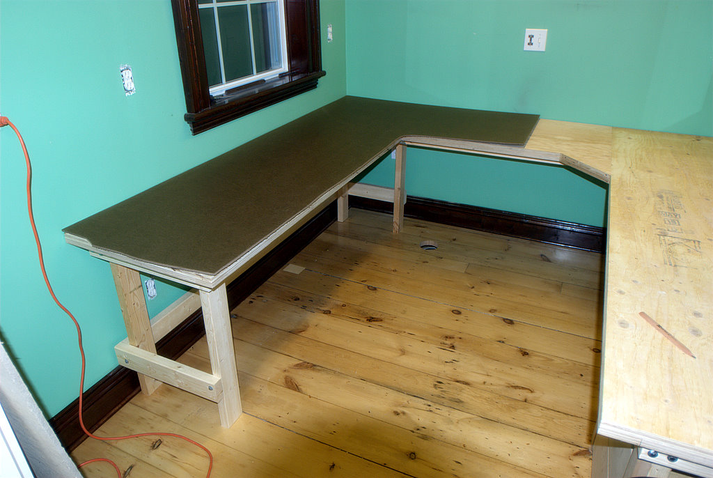 Laminated Plywood Workbench Top Benches